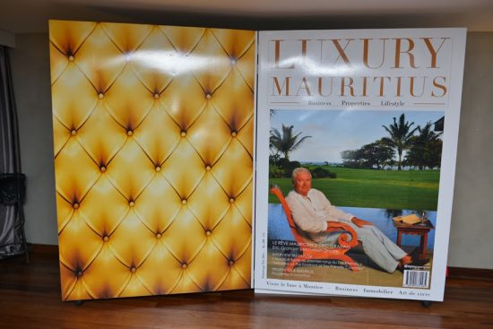 launch of luxury mauritius magazine