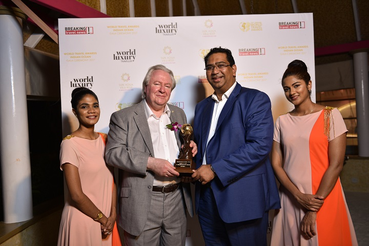 Mr Graham Cooke, President & Founder, World Travel Awards, Mr Kevin Ramkaloan, Director, Mauritius Tourism Promotion Authority
