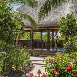 Four Seasons Luxury Mauritus yoga detox