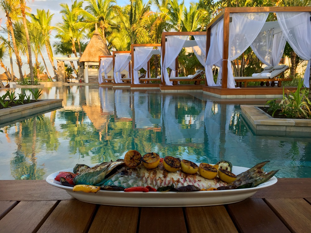 LeSaintGeran_La Pointe_Food By The Pool Luxury Mauritius