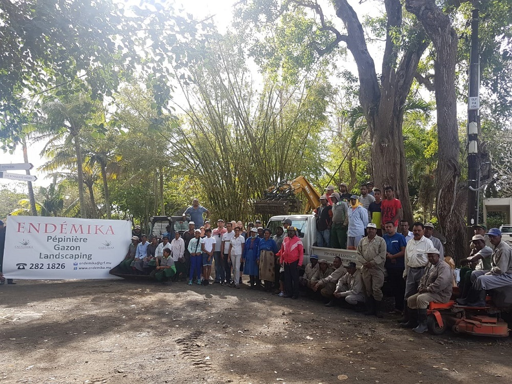Launch of World Clean Up Day by Endemika luxury mauritius