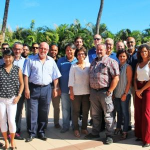 Cluster GREEN Team with Luxury Mauritius Luxury Indian Ocean partners