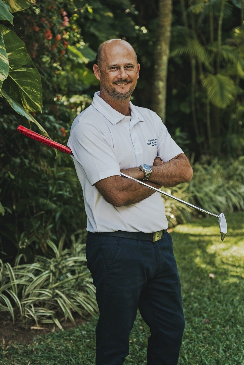 Sebastien Pilot, Golf Director - Constance Hotels, Resorts & Golf Luxury Indian Ocean MCB Tour Championship