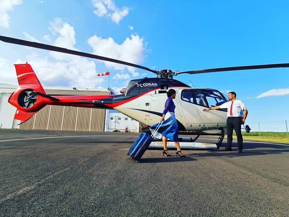 Corail Helicopteres Luxury Indian Ocean 1