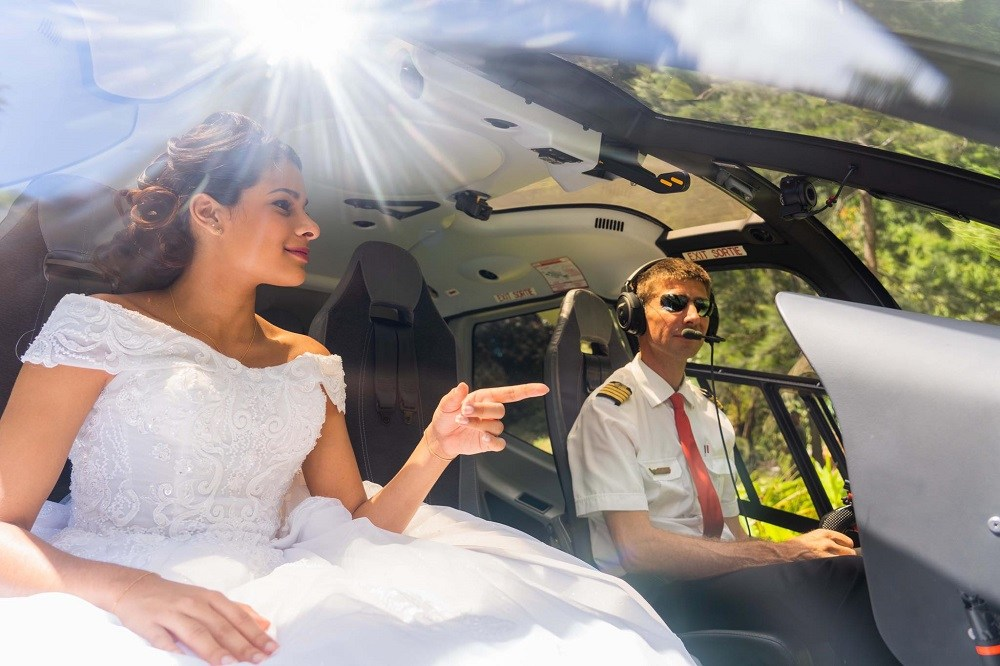 Corail Helicopeteres Heli wedding Luxury Indian Ocean 4