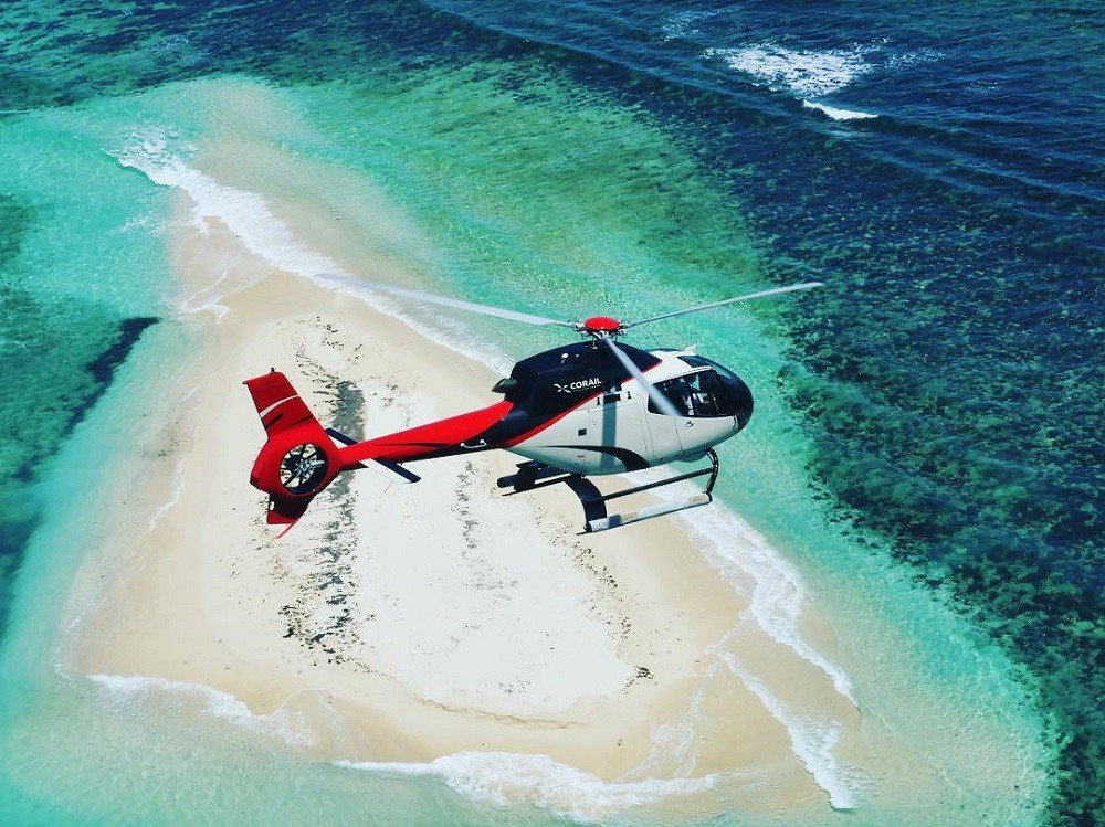 Corail Helicopeteres Heli wedding Luxury Indian Ocean 5