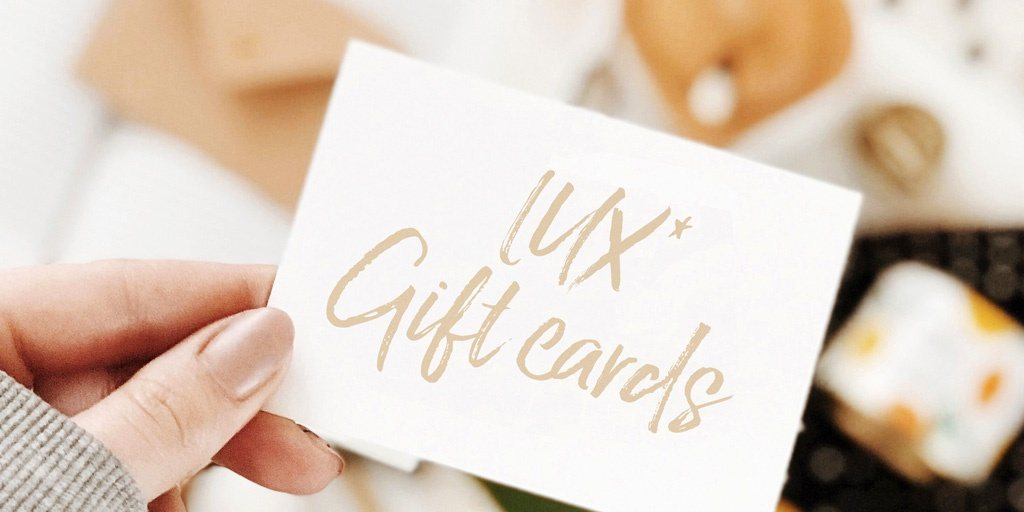LUX Gift Cards Luxury Indian Ocean Fetes des meres