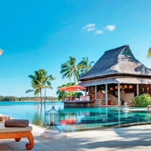 Constance Prince Maurice pool Luxury Indian Ocean