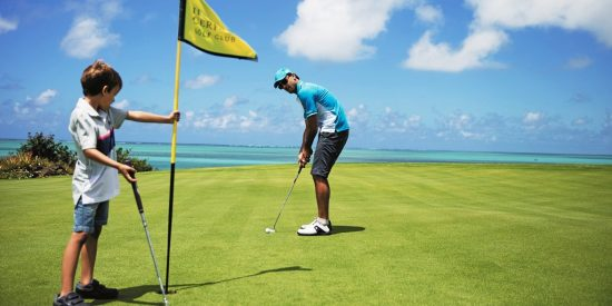 Luxury Indian Ocean Sun Resorts Golf Kids