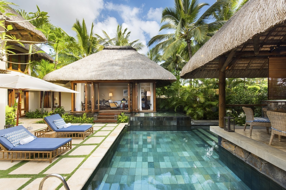 Constance Belle Mare Plage villa pool view Luxury Indian Ocean 6a