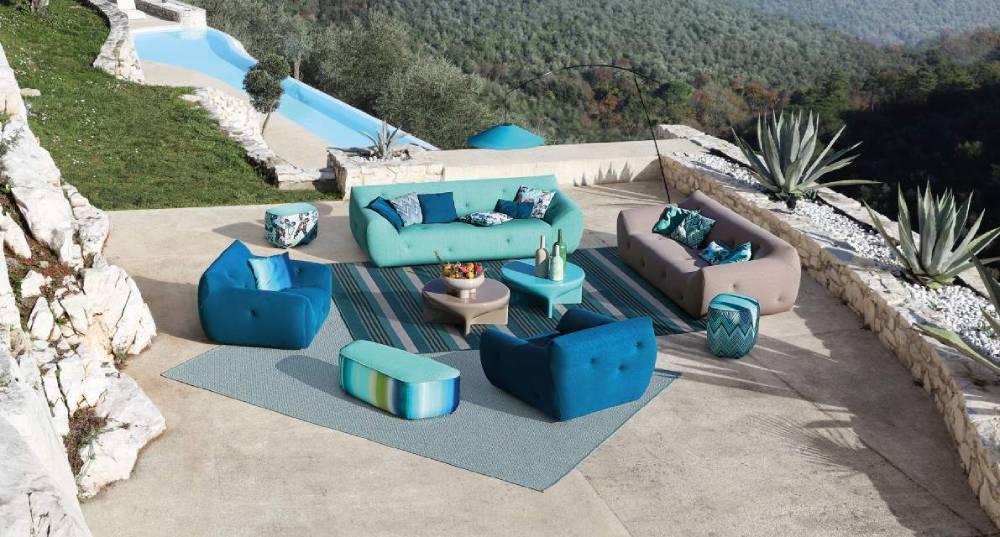 Luxury Indian Ocean Roche Bobois Collection 2021 textile outdoor