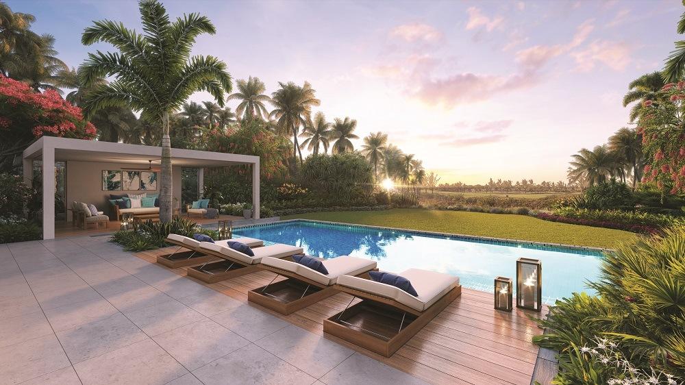 Mont Choisy Smart City Luxury Indian Ocean Fairway Villa
