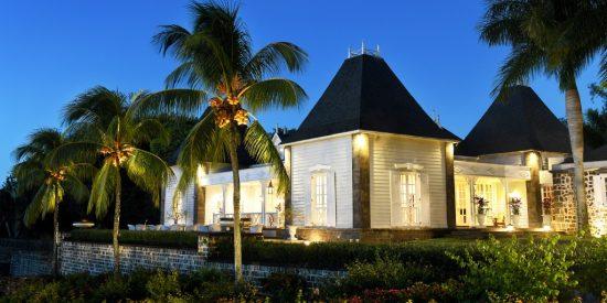 Luxury Indian Ocean Chateau Mon Desir Awards Banner